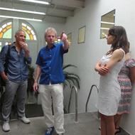 Visita à galeria A Gentil Carioca