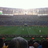 Jogo México x Itália na Copa das Confederações 2013