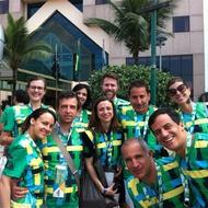 Grupo da Art + Soccer Immersion Trip