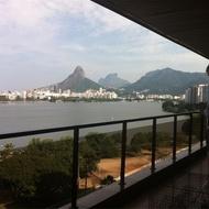 Visita a colecão privada, no Rio de Janeiro