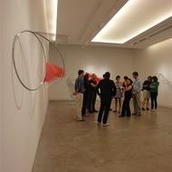 Exposição de Iole de Freitas na galeria Silvia Cintra + Box4